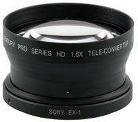 Century Optics 0HD-16TC-EX1  1.6X HD Tele-Convertor, for EX1/EX3 0HD-16TC-EX1