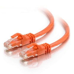 Cables To Go 27819  CAT6 Patch Cable, Snagless, 150', Orange 27819