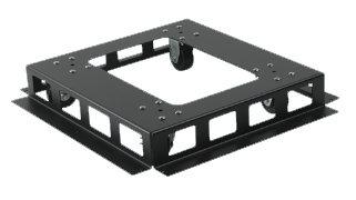 Atlas Sound FMARTK25 Caster Kit, for FMA Series FMA-RTK25