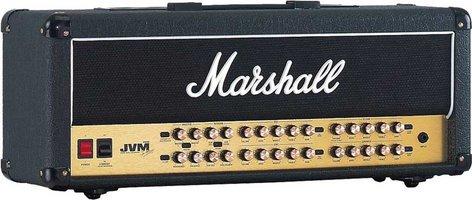 Marshall Amplification JVM410H Joe Satriani Edition 100W 4-Ch Tube Guitar Amplifier Head JVM410HJS