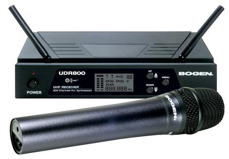 Bogen UDMS800HH  UHF Wireless System, with Handheld Transmitter UDMS800HH