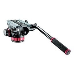 Manfrotto MVH502AH Pro Video Head with Flat Mid-Sized Base MVH502AH