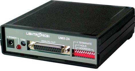 Lightronics Inc. UMX-24 DMX/LMX to Analog Translator UMX-24
