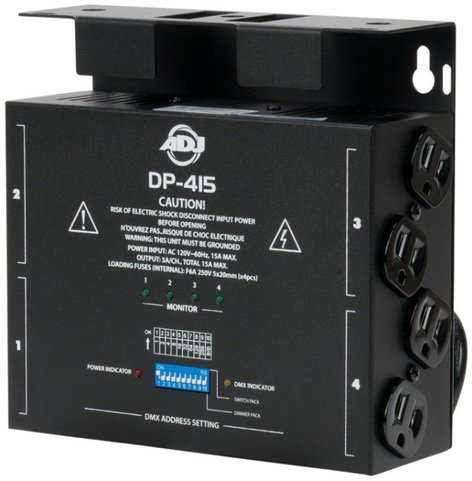 ADJ DP-415 4-Channel DMX Dimmer DP415
