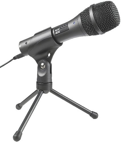 Audio-Technica AT2005USB Handheld Microphone, Dynamic AT2005USB