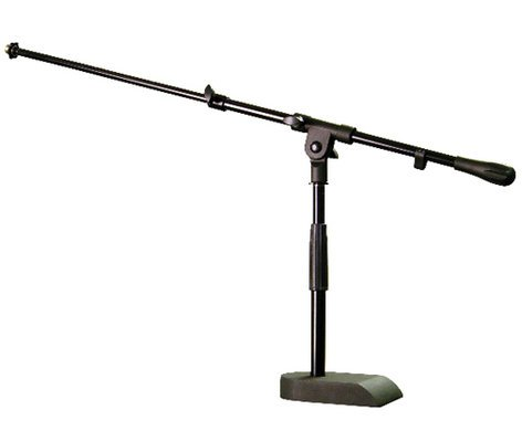 Audix STAND-KD Short Microphone Stand with Boom Arm and Weighted Base STAND-KD