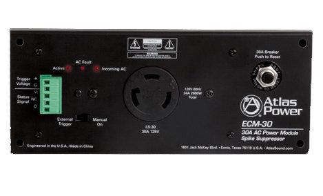 Atlas Sound ECM-30  AC Power Module Spike Supressor ECM-30