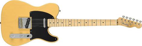 Fender Classic Player Baja Tele, Blonde Telecaster, 014-1502-307 TELE-CP-BAJA-BLONDE
