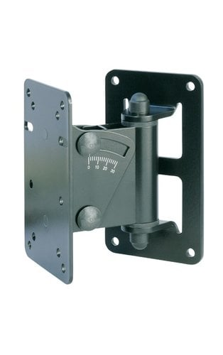 K&M 24470-BLACK Speaker Wall Mount, Black  24470-BLACK