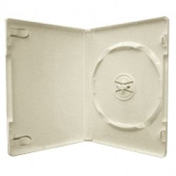 American Recordable Media DVD-BOX-WHITE-SLV DVD Album, Single, with Overwrap, White DVD-BOX-WHITE-SLV
