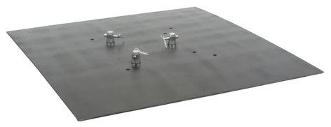 Global Truss BASEPLATE-3.3S 3 x 3 ft. Steel Baseplate BASEPLATE-3.3S