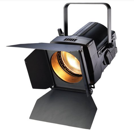 """ETC FRES7-A 7"""" Source Four Fresnel with Edison Connector in Black FRES7-A"""