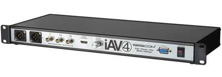 Sescom SES-IAV4 iPad & iPhone Pro Video & Audio Broadcast Interface with HDMI - BNC - XLR SES-IAV4