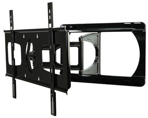 "Peerless SUA751PU Black Universal Articulating Arm Wall Mount for 37""-55"" Ultra Slim Flatscreens (2"" D or Less) SUA751PU"