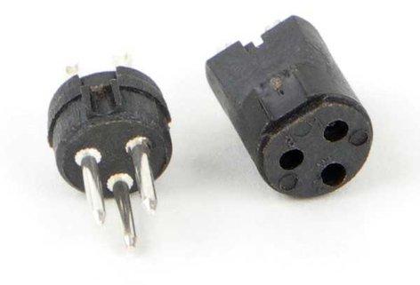 Switchcraft TQG4F Tini QG Insert, 4 pin Female TQG4F