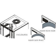 Middle Atlantic Products VBK-BGR-SA Vent Control Kit for BGR-SA VBK-BGR-SA