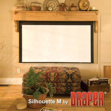 """Draper Shade and Screen 202163  Projection Screen, Series M, 60"""" x 60"""", Matte White 202163"""