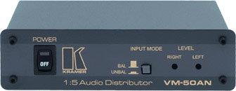Kramer VM50AN 1:5 Audio Distribution Amplifier VM50AN
