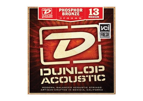 Dunlop Manufacturing 3PDAP1254 3 Pack Light Acoustic Guitar Strings 3PDAP1254