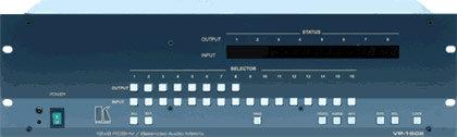 Kramer VP1608 16 x 8 RGBHV / Audio Matrix Switcher VP1608