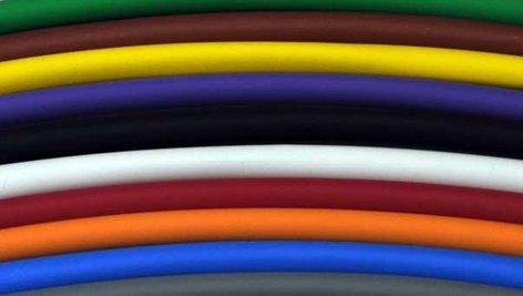 """Whirlwind PT1/4-BLACK Shrink Sleeve, 1/4""""Diameter Sold per ft PT1/4-BLACK"""
