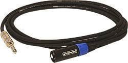 Whirlwind STM06 TRS-XLRM Cable, 6 Ft STM06