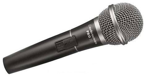 Audio-Technica PRO31 Cardioid Dynamic Handheld Microphone PRO31
