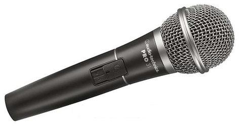 Audio-Technica PRO31 Cardioid Dynamic Handheld Microphone PRO31
