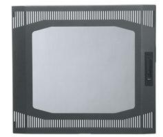Middle Atlantic Products DT-PVFD-14  Plexi-Vented Front Door, 14sp  DT-PVFD-14