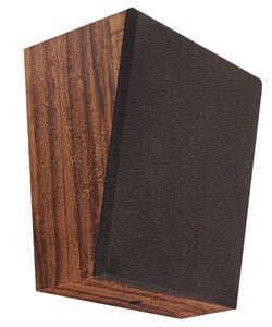 "Speco Technologies WB8-6T  8"" Wooden Wall Baffle Speaker, with 70V Transformer Dial WB8-6T"