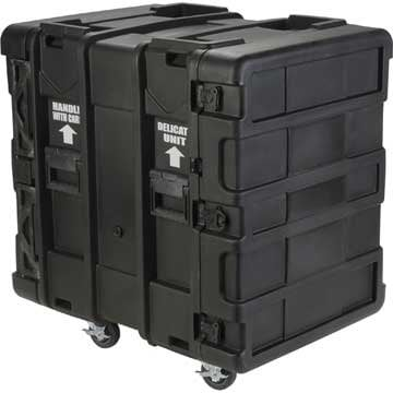 "SKB Cases 3SKB-R914U24  14U Roto Shockmount Rack Case, 24"" Deep 3SKB-R914U24"