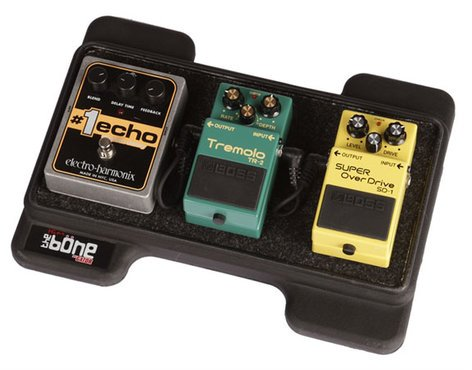 Gator Cases G-MINI-BONE Mini Molded Pedalboard with Carry Bag G-MINI-BONE