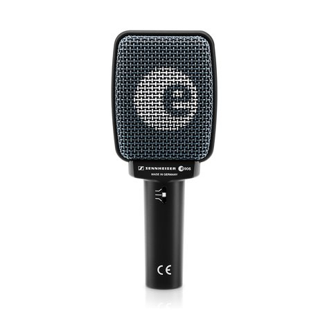 Sennheiser E906 Dynamic Guitar/Instrument Microphone E906