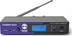 Hear Technologies FB-TRANSMITTER Transmitter for Freedom Back System, Band A FB-TRANSMITTER