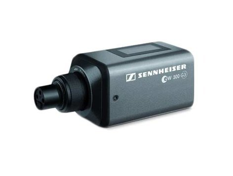 Sennheiser SKP 300 G3 Plug-On Wireless Microphone Transmitter with 48V Phantom Power SKP300-G3