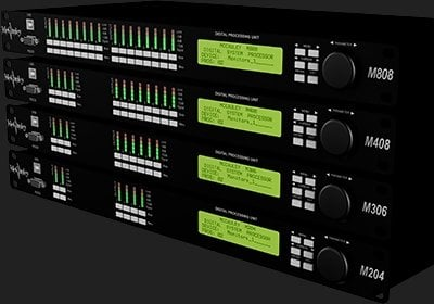 McCauley Sound M408  4-In, 8-Out Loudspeaker Controller M408