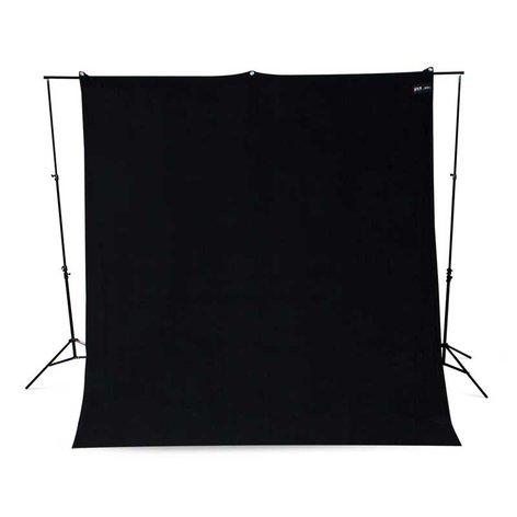 Westcott 133-WESTCOTT 9x10 Black Backdrop, Wrinkle-Resistant 133-WESTCOTT