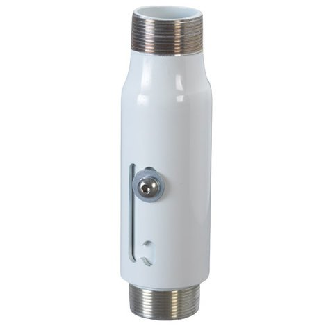 """Chief Manufacturing CMS006009W 6"""" to 9"""" Adjustable Extension Pipe in White CMS006009W"""