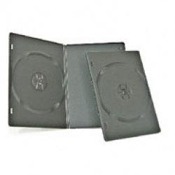 American Recordable Media DVDB-1-7MMO/B  Single Disc DVD Case, Slim, Black DVDB-1-7MMO/B