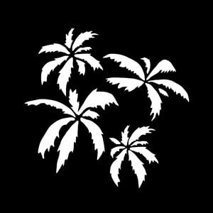 Apollo Design Technology MS-3582 Steel Gobo, Palm Trees MS-3582