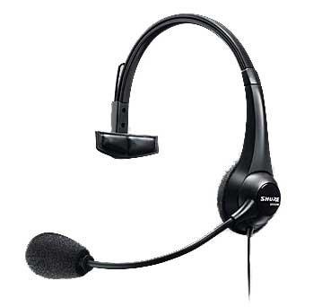 Shure BRH31M Broadcast Headset,Single Sided BRH31M