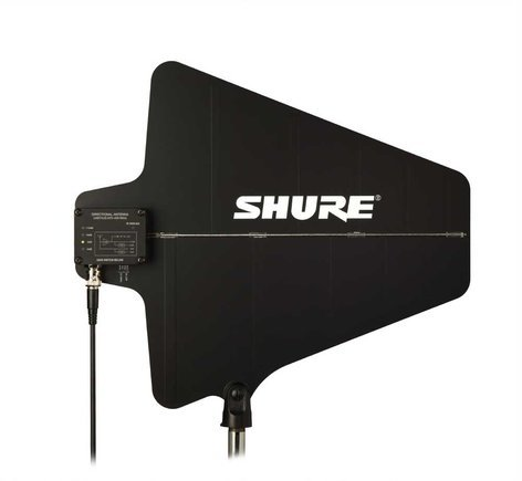 Shure UA874 Directional Antenna with Integrated Amp, 470-698 MHz UA874US