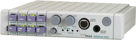 RTS MCE-325 A5F -Programmable Master Station with A5F Headphone Connector MCE325/A5F
