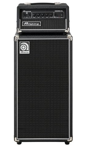 "Ampeg Micro-CL Stack 100W 2x10"" Bass Piggyback Amplifier MICRO-CL"