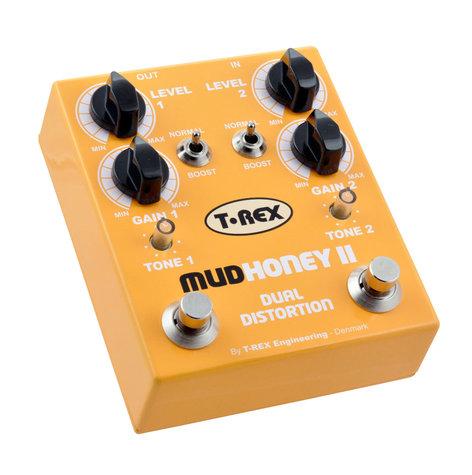 T-Rex MUDHONEY 2 Distortion Pedal MUDHONEY-II