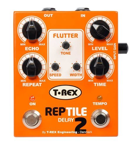 T-Rex REPTILE 2 Delay Pedal for Guitar/Bass REPTILE-II