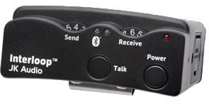 JK Audio Interloop Wired/Wireless Intercom Belt Pack INTERLOOP