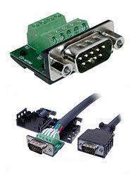 BTX Technologies CD-MX9M  MaxBlox DB9(M) to Term Block  CD-MX9M