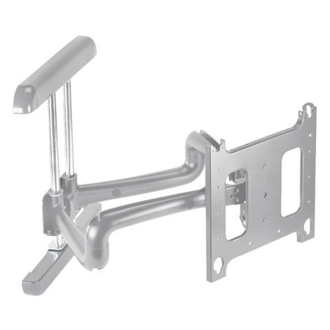 Chief Manufacturing PDRUS Flat Panel Wall Mount, Swing Arm, Silver PDRUS