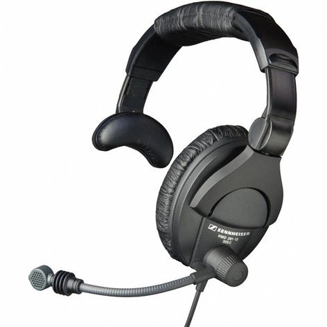 "Sennheiser HMD 281-XQ Headset with Microphone and XLR + 1/4"" Connectors HMD281-XQ"